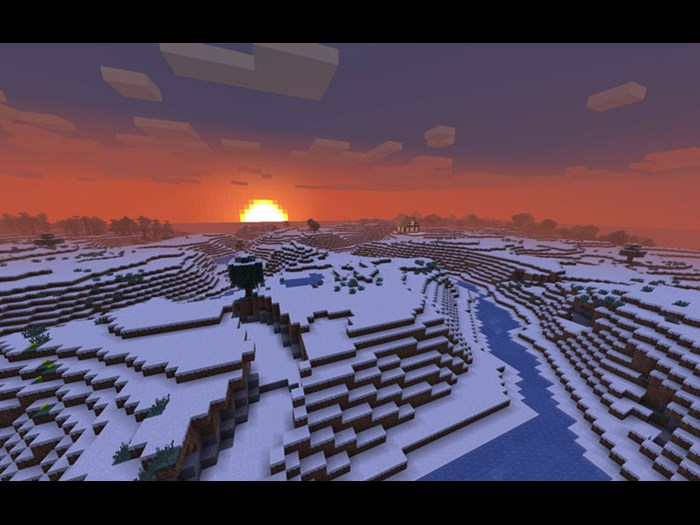 Minecraft, Marcus Persson, 2011. Courtesy of Mojang.