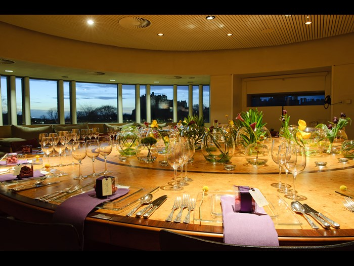 Dinner in the Boardroom