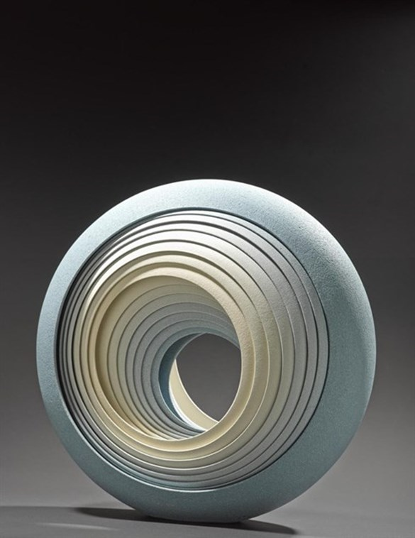 Eclipse Blue sculpture