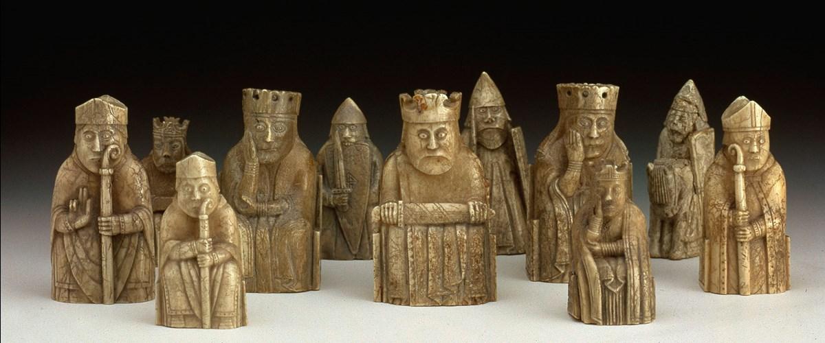 Lewis chessmen - Lewis chessmen set ...