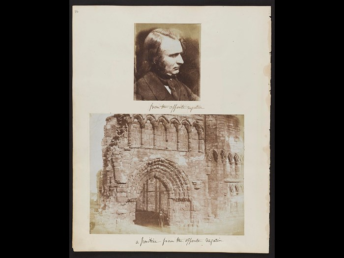 Calotype photographs from an album compiled by Dr John Adamson, among the earliest in Scotland.