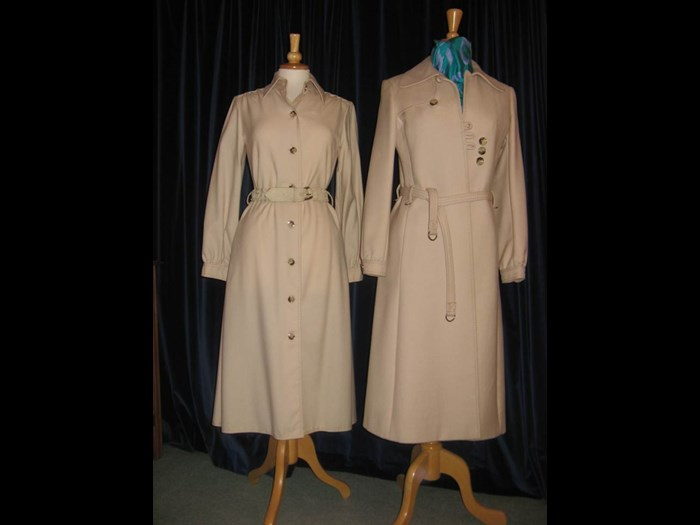Baccarat coat and dress
