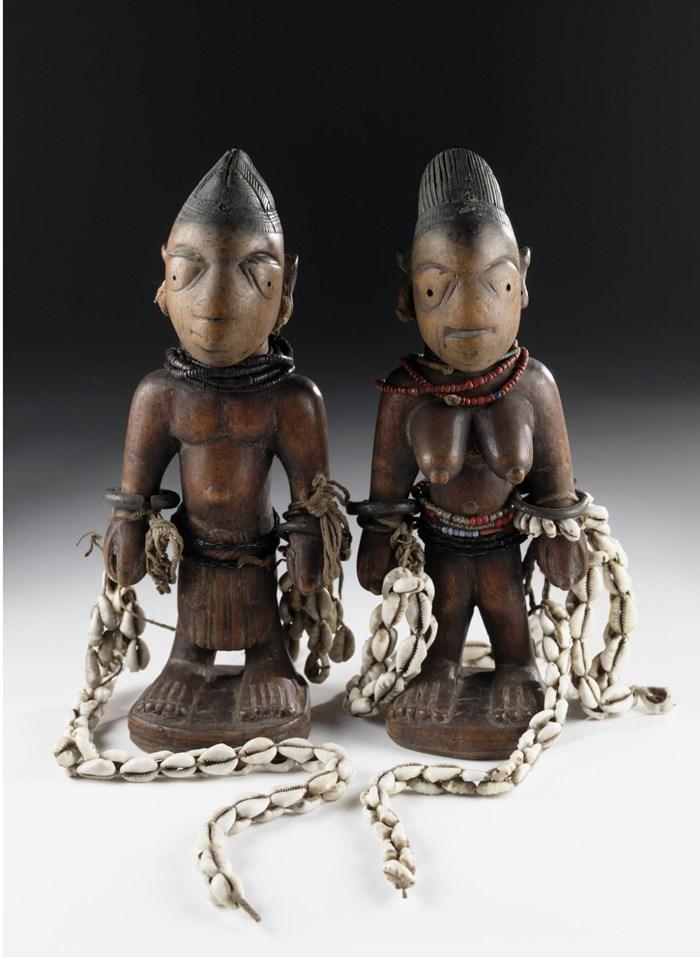 Ere ibeji figures Yoruba Tribe Twins