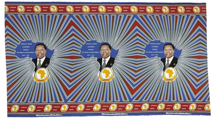 Commemorative cloth for the African Union 2010-2011