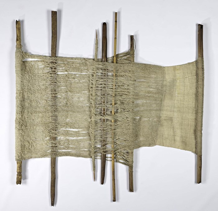 Weaving loom collected by David Livingstone