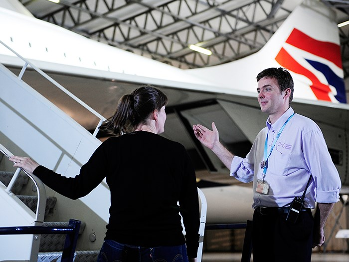 Don't miss the chance to get up close to Scotland's Concorde.