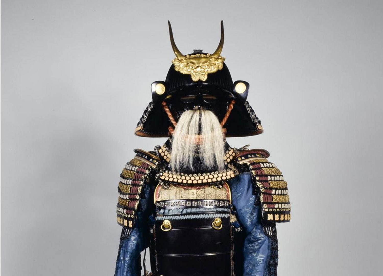 Early 19th century suit of Samurai armour.