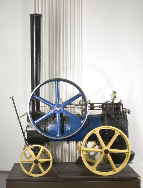 Portable Steam Turbine : Tuxford portable steam engine