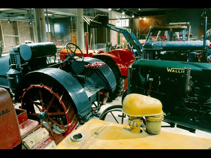 Discover tractors galore inside the National Museum of Rural Life.