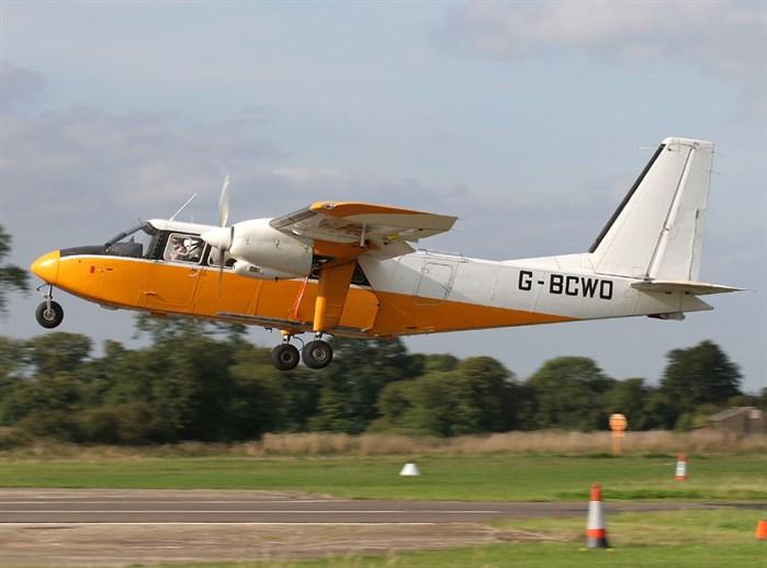 Britten-Norman Islander G-BELF