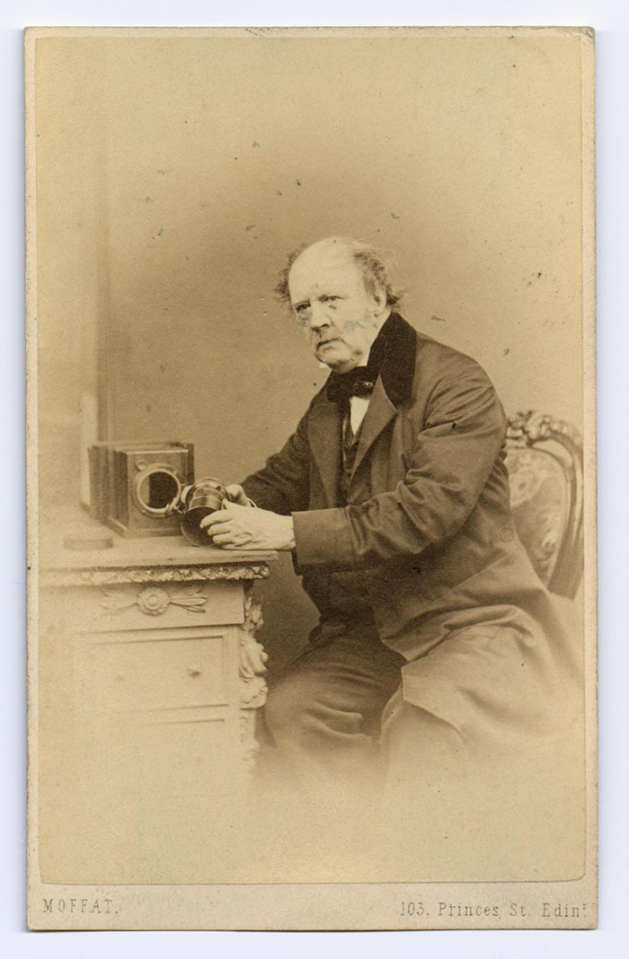 Carte De Visite Of William Henry Fox Talbot