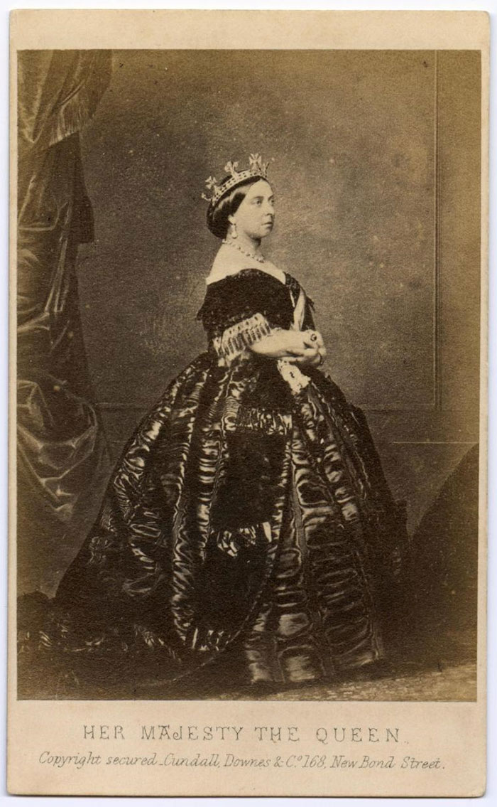 Carte De Visite Of Queen Victoria