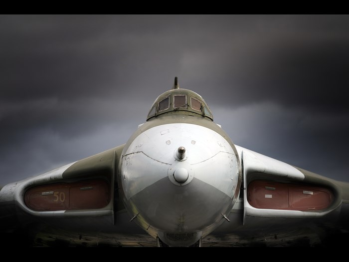 Avro Vulcan XM597 at National Museum of Flight, East Fortune Airfield.