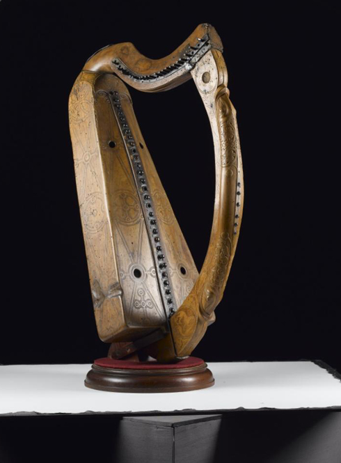 Queen Mary Clarsach, a Gaelic Harp
