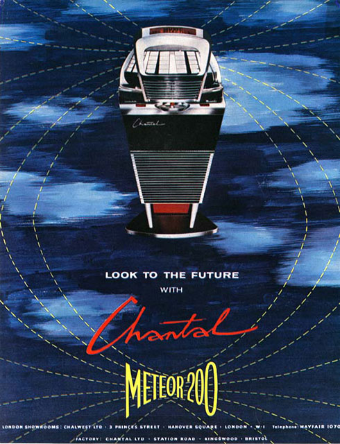 Advertisement for the Chantal Meteor 200. Image by Tony Holmes.