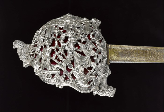 Backsword made by Charles Frederick Kandler of London, 1740 – 1741.