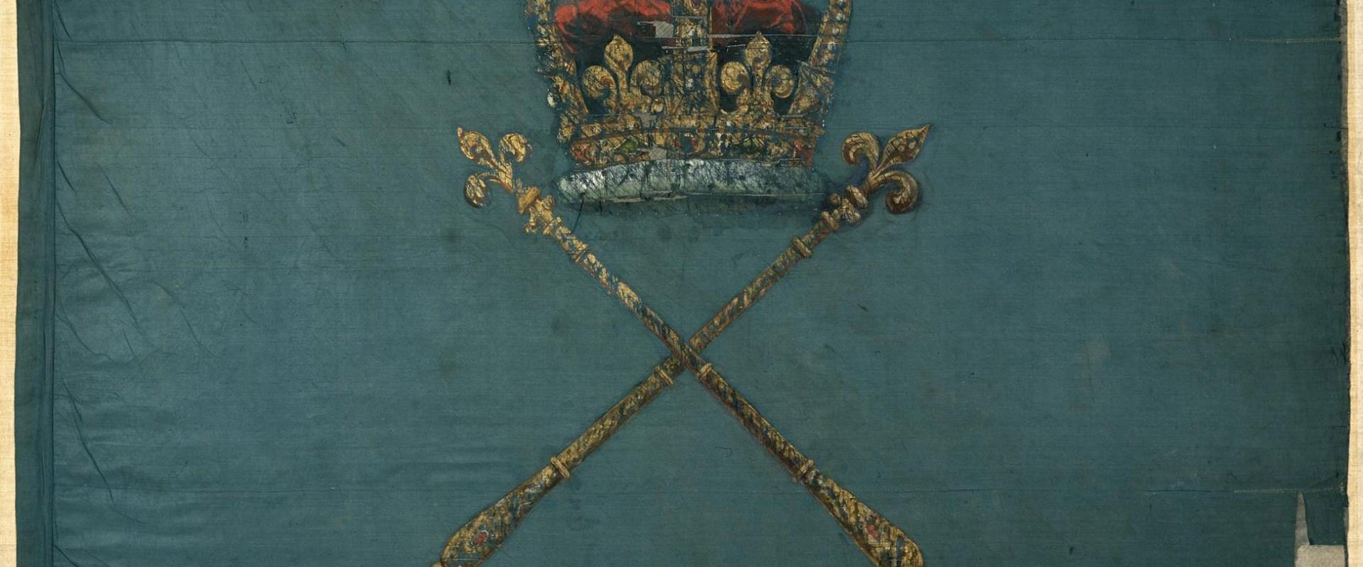 Culloden: Regimental colours