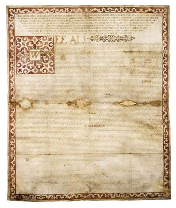 Copy of the National Covenant