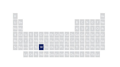 From minerals to your mobile wolframite tungsten periodic table urtaz Choice Image