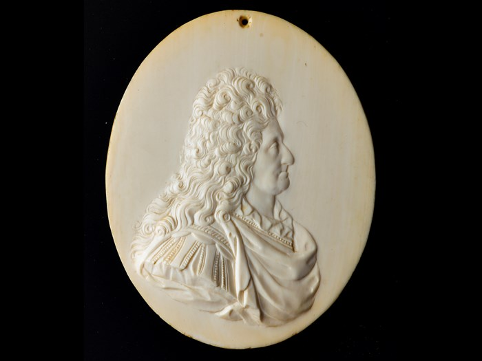 Relief plaque of George Mackenzie, 1st Earl of Cromartie (1630-1714)