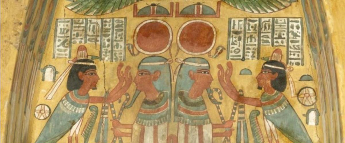 Discover ancient egypt for Mural egipcio