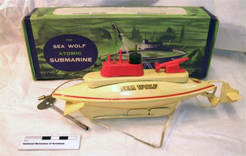 Sea Wolf atomic submarine toy