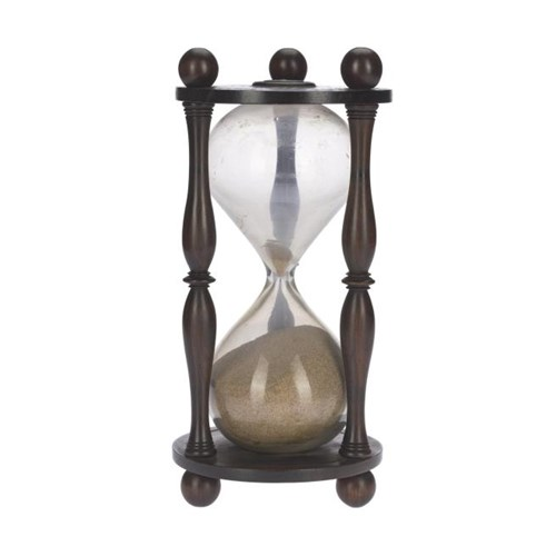 Hourglass owned by Sir Walter Scott