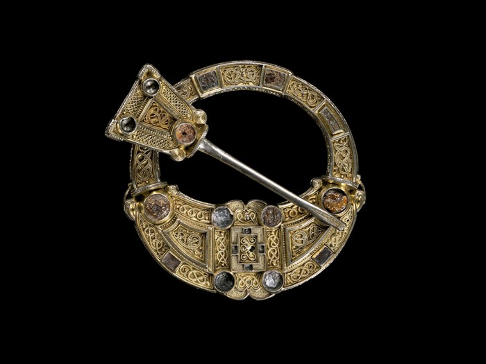 The Hunterston Brooch, probably the kind of brooch that is being evoked in the head of Westness.