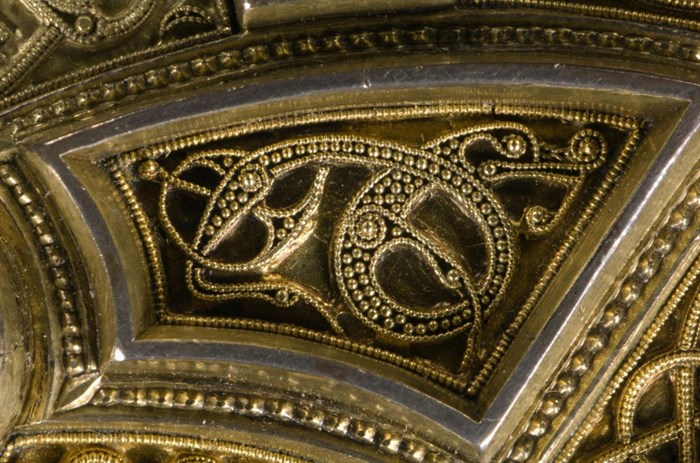 Filigree work on the Hunterston brooch