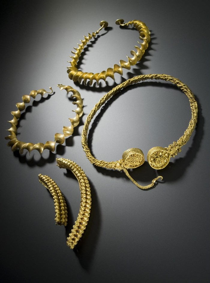 Gold torcs