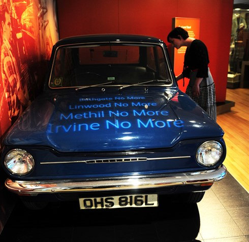 Hillman Imp in the Scotland: A Changing Nation gallery