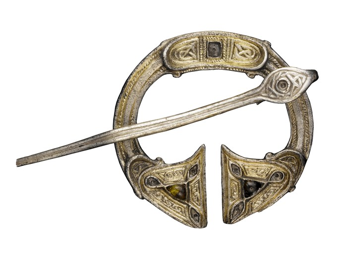St Ninian's Isle treasure brooch