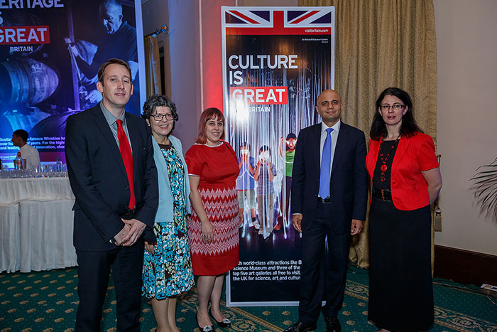 Kolkata reception for UK and Indian museums